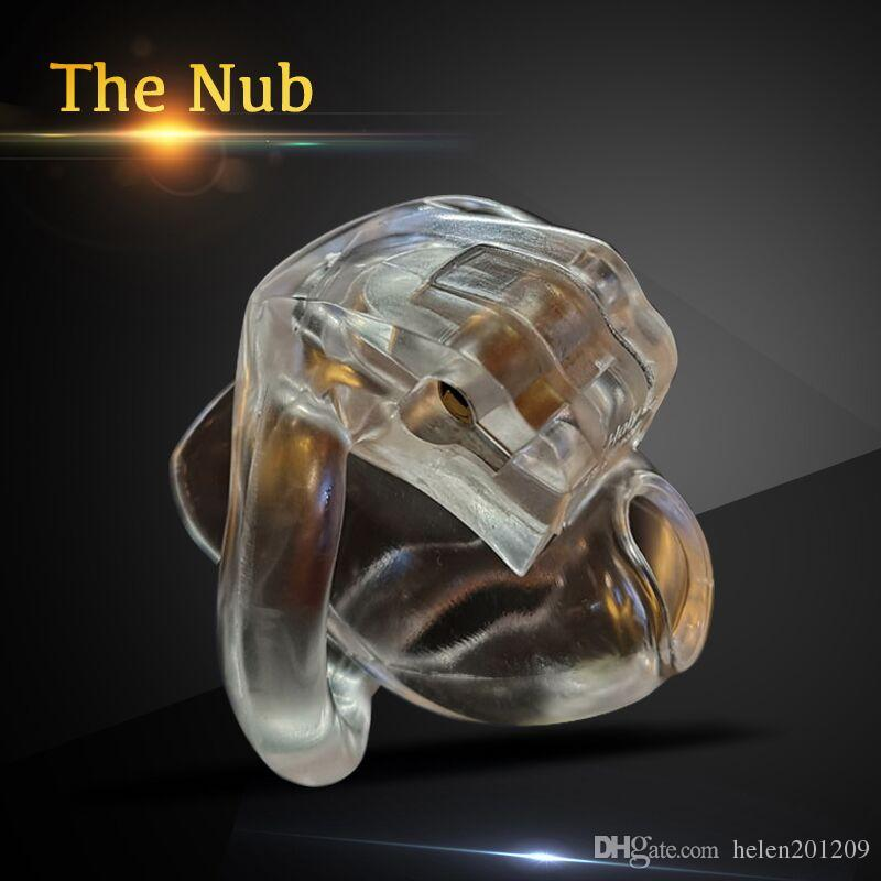 The Nub of HT V3 Male Chastity Device with 4 Rings New Arrivals