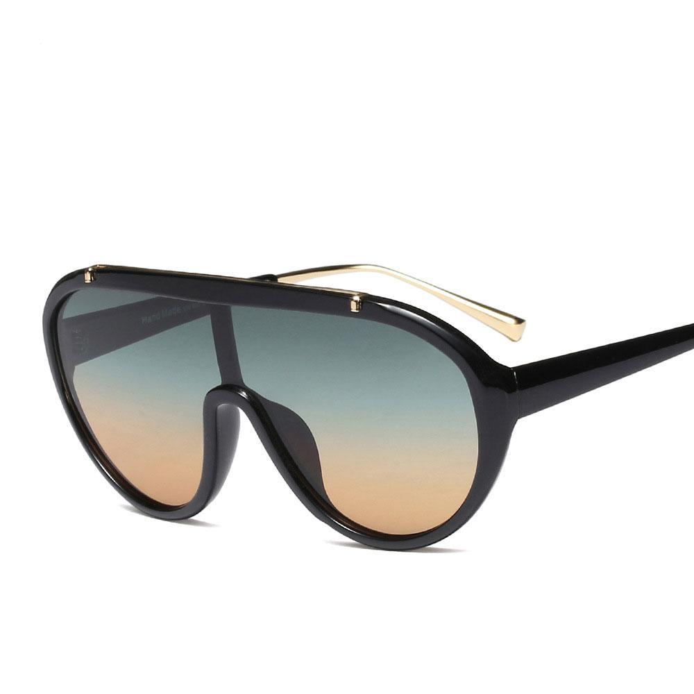 bb8bb1a02e Oversize Fashion Pilot Sunglasses for Men And Women Frame Classic ...