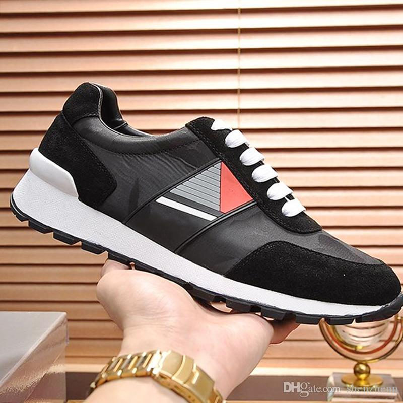 Men Shoes Casual Technical Fabric Fashion Sneakers Breathable Footwears Trainers Scarpe da uomo Fashion Men Shoes Rubber Sole Fast Delivery