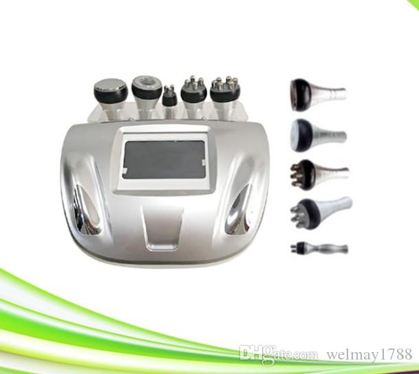 new 5 in 1 spa salon face lift rf cavitation slimming machine ultrasonic cavitation 40k cavitation machine