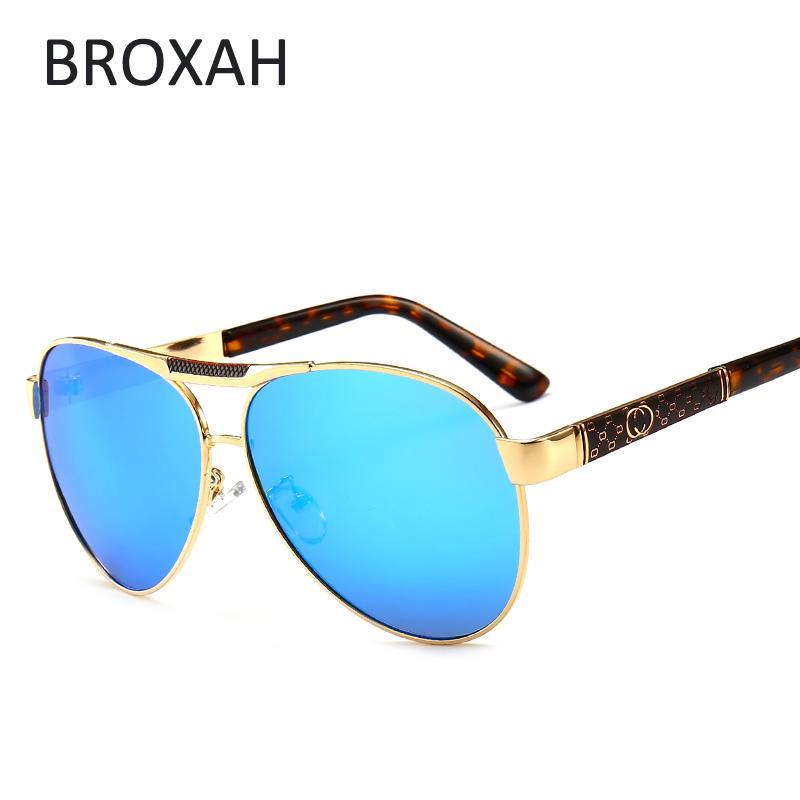 be1890dfd8ca Retro Men S Metal Polarized Sunglasses Brand Desinger Eyeglasses Pilot  Driving Sunglasses For Men UV400 Zonnebril Heren 2802 Reading Glasses  Prescription ...