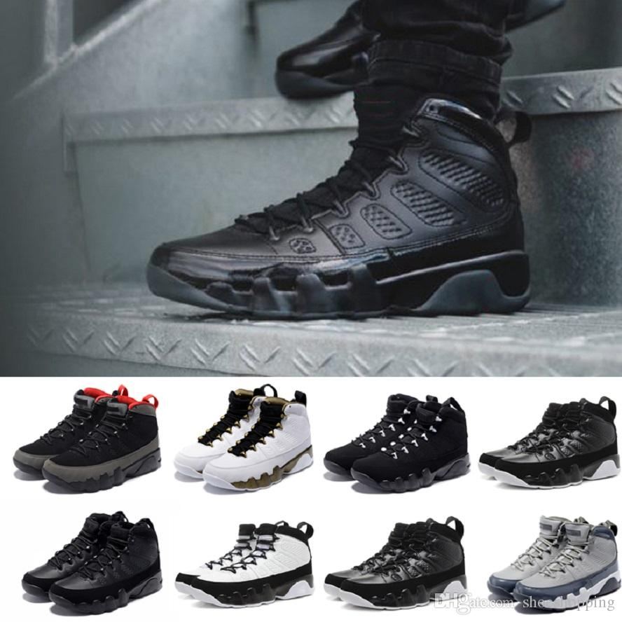 f7788f6e8795 2019 AAA+ 9s 9 Basketball Shoes Men Bred LA Anthracite Black White The Spirit  Cool Grey Lakers PE Trainers Sports Sneakers Basketball Shoes For Girls ...