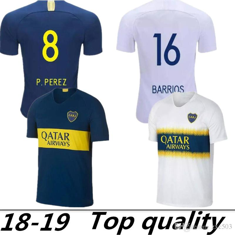 bca0a7ff9f6 2019 Thai AAA Quality 2018 2019 Argentine Super League Boca Juniors Soccer  Jerseys New Season  5GAGO CARLITOS TEVEZ HOME AWAY Football Uniforms From  Zxc503