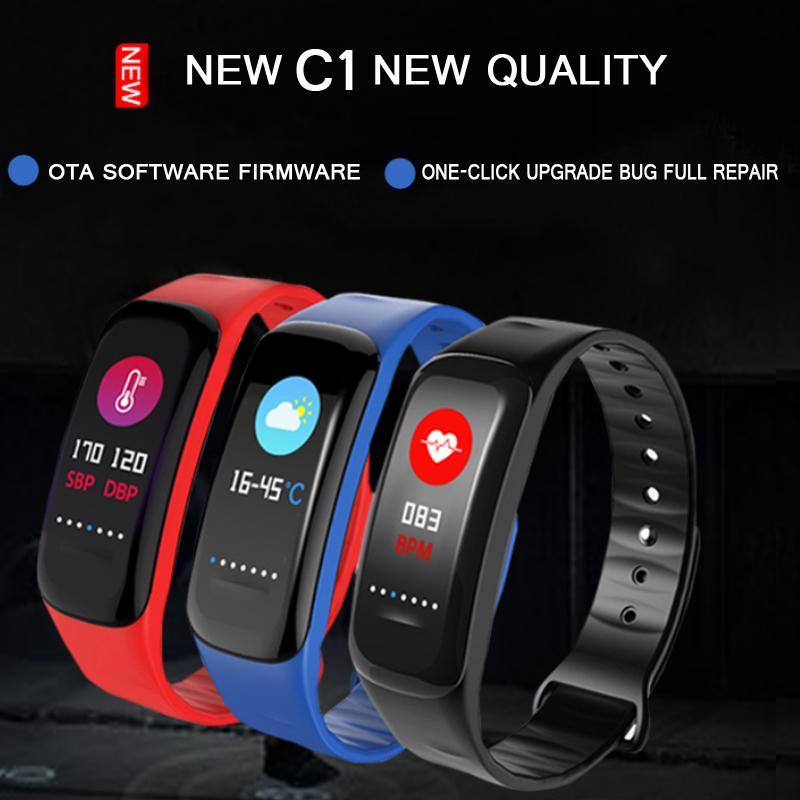 Men's Watches New Smart Wristband Cf007 Smart Band Heart Rate Blood Pressure Passometer Fitness Bracelet Activity Tracker Mart Bracelet 100% Original