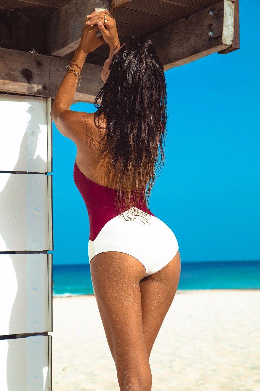 Neon Coral Reversible Mesh One Piece Swimsuit 2017 Vintage Plus Size Women Swimwear Ladies sexy one piece bathing suit for women