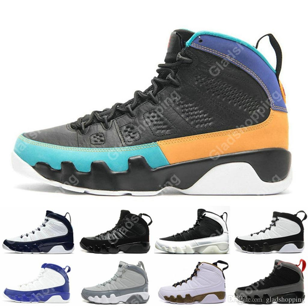 new concept d4b6f f49b6 9 Dream it Do It UNC Bred Space Jam Kobe Bryant Cool Grey Statue Anthracite  Mens Basketball Shoes Sneakers Designer 9s Sports Shoes