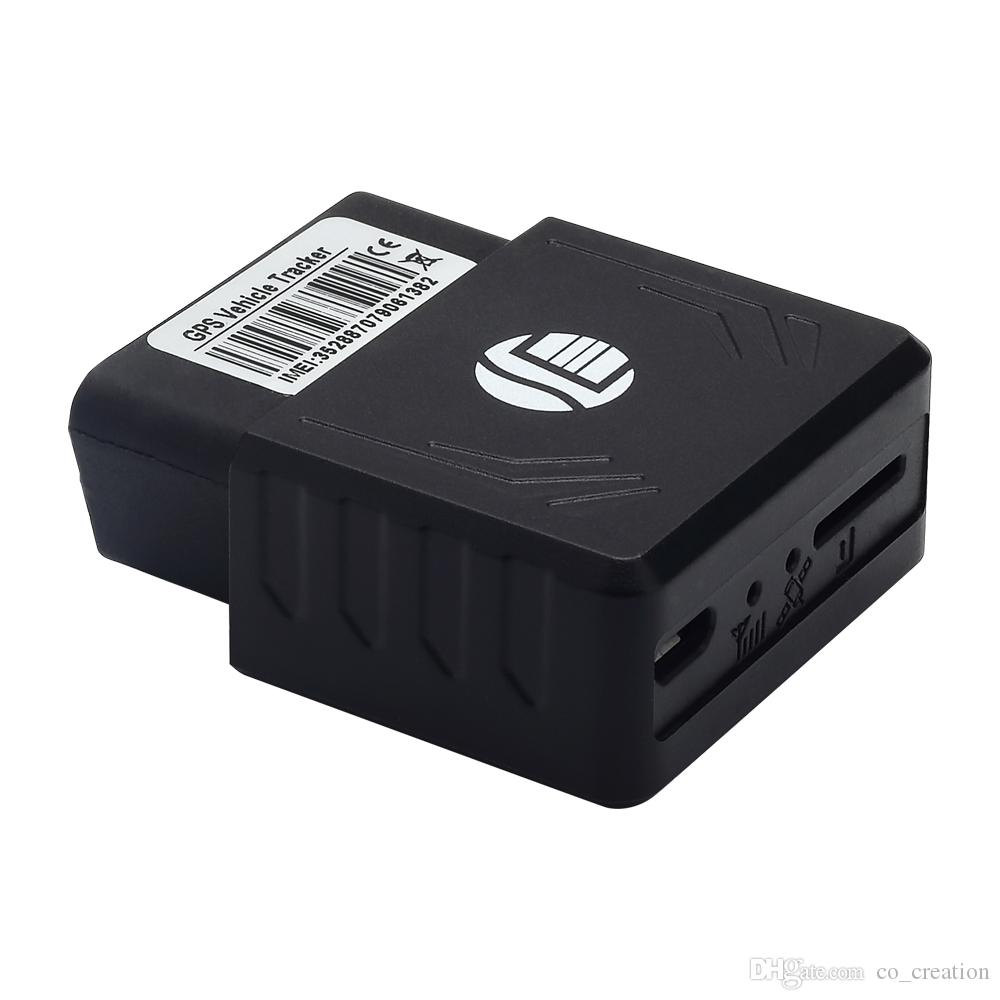Best Quality Vehicle OBD2 GPS/GPRS/GSM vehicle obd GPS Tracker free  installation Real-time tracking car