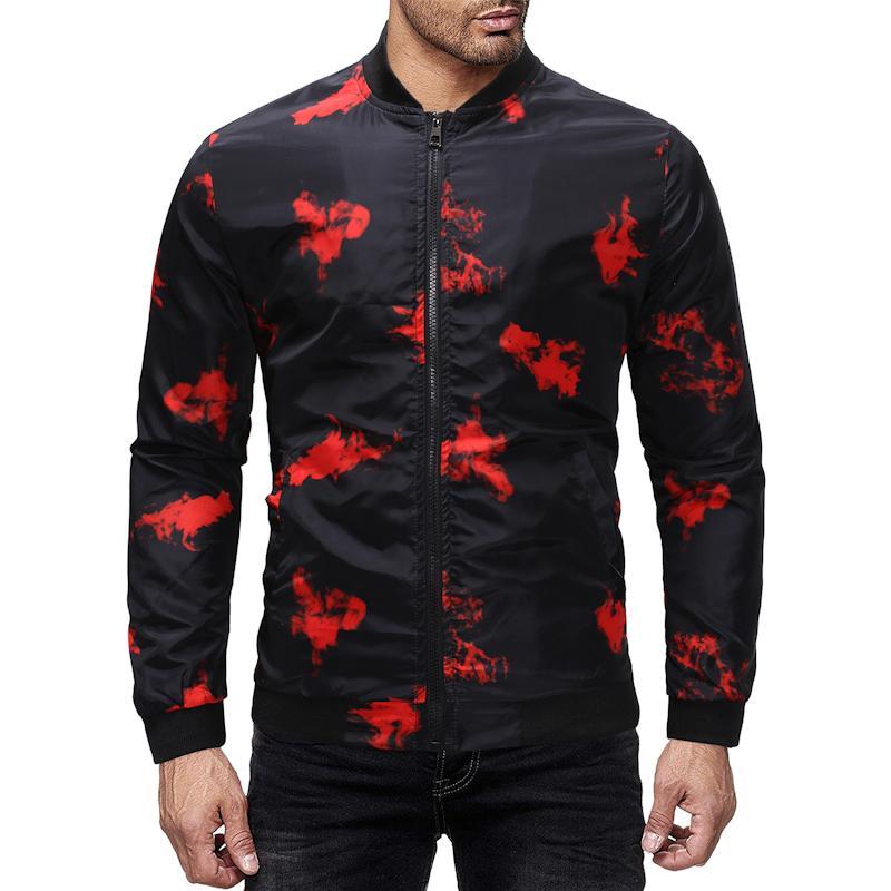 6053964f3d678 Acquista New Bomber Jacket Uomo Hip Hop Slim Fit Giacca Casual Cappotto  Giacche Da Uomo Costume Cosplay Spedizione Gratuita JA010 A  31.04 Dal  Redbud03 ...