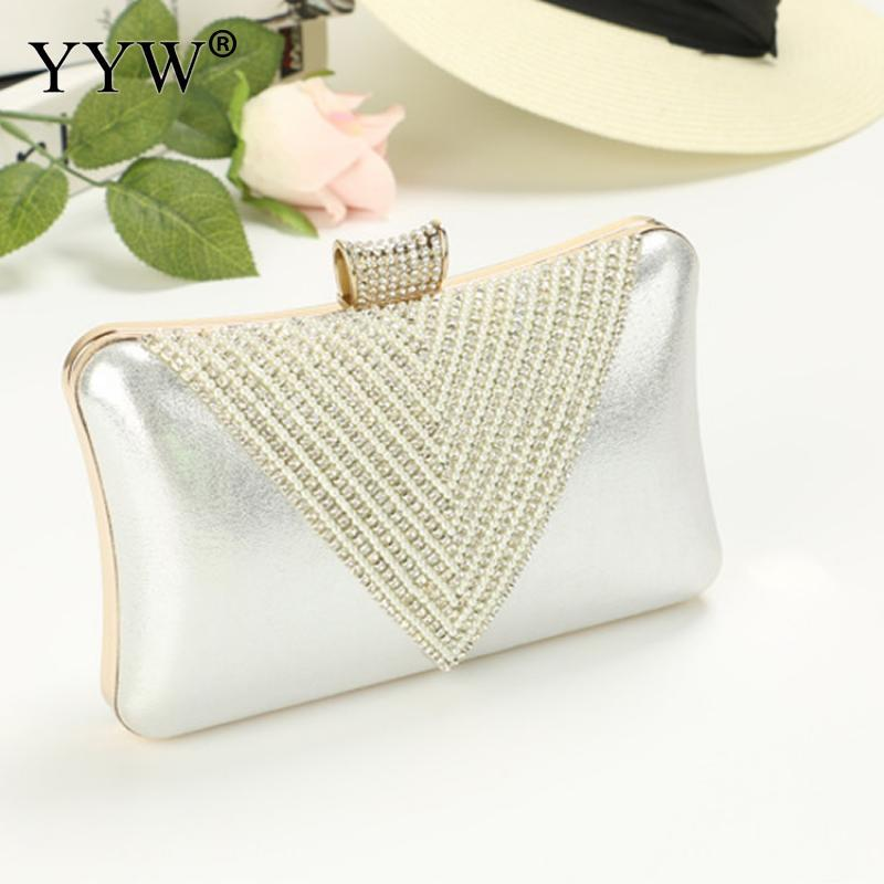 fa12cb0bcf Pu Leather Box Bag Women Fashion Party Evening Clutch Bag Female European  Style Clutches Purse Gold Sliver Pouch Ladies Bags Leather Satchel From  Thefunk, ...