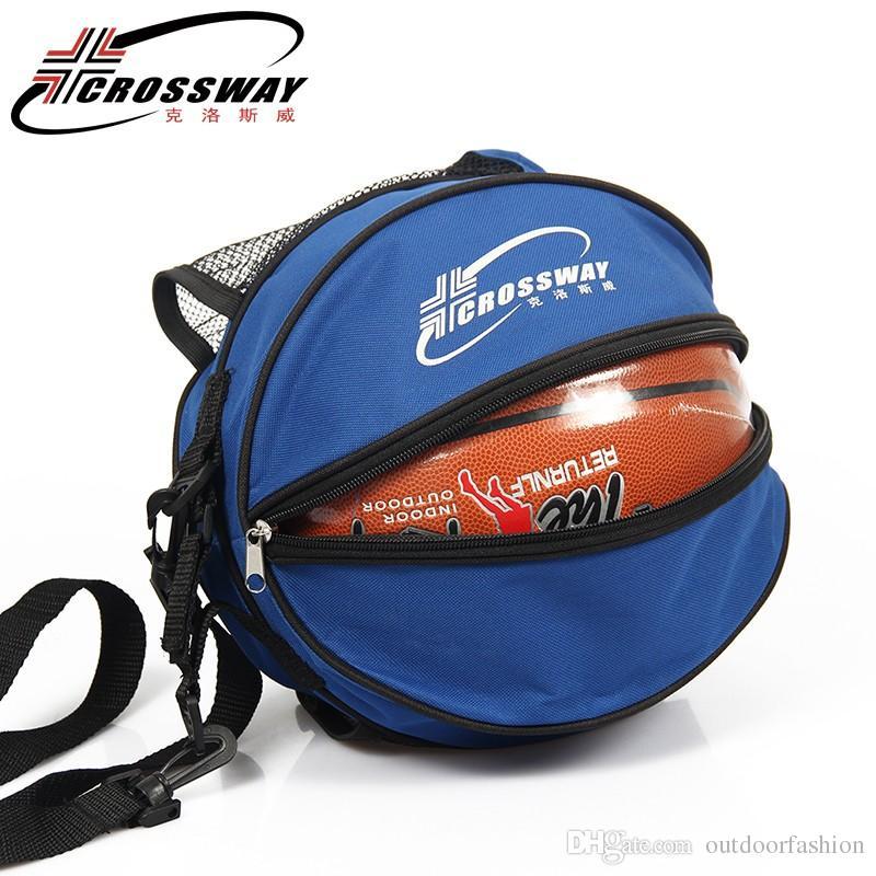 Compre CROSSWAY Hombro Deportivo Al Aire Libre Bolsas De Balones De Fútbol  Accesorios Para Equipos De Entrenamiento Kits De Fútbol Para Niños Bolsa De  ... 8d1980c834614