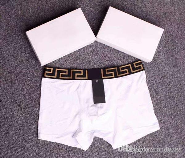Herren-unterwäsche Hot Sexy Solide Männer Unterwäsche Boxer 3 Farben Atmungs Boxer Unterwäsche Männer PüNktliches Timing