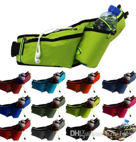 Relojes Y Joyas Confident New Camouflage Running Waist Bags Men And Women Sport Multi Function Waist Packs Unisex Gym Running Bag For Mobile Phone