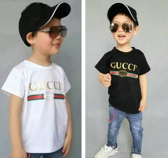 52e8723a8 2019 Designer Summer 3 7 Years Old Baby Boys Girls Print T Shirts R ...
