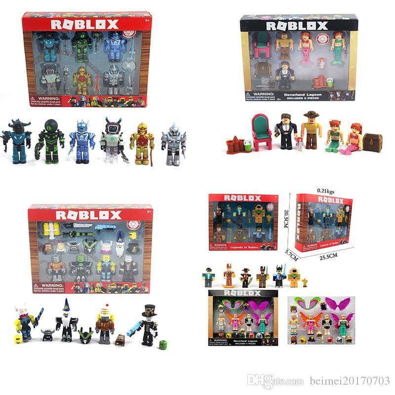 2018 Adornos Figurines Dibujos Cumpleaños Figura Personajes 7 Roblox Cm Regalo Colección Juguete Anime De Juguetes Pvc Animados Juego Niños eBdCrxWQo