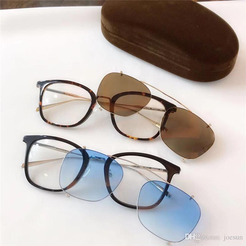 New fashion designer sunglasses 720 square double lens frame sun and optical series popular avant-garde style protection eyewear