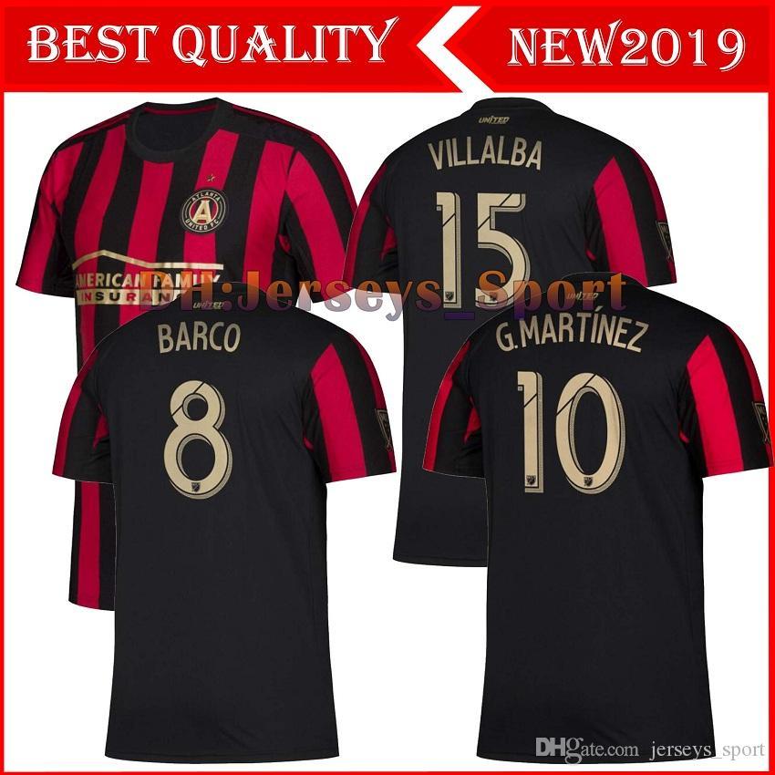 cef3da50cba 2019 2019 2020 MLS Men S Atlanta United FC Soccer Jerseys 19 20 VILLALBA G.MARTINEZ  Football Shirts 19 20 MLS Soccer Jerseys Men S T Shirts From ...