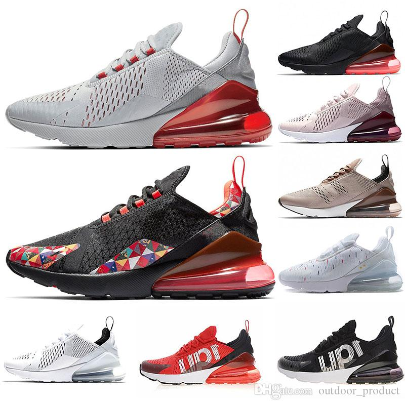 buy popular 98e4c c75fb Abbigliamento Running Nike Air Max 270 Vapormax Lusso VPM Scarpe Da Tennis  27c Runner Wolf Grigio Triple Bianco Nero Francia Light Bone Medium Olive  CNY Hot ...