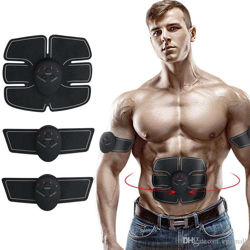 New Arrival Electrical Muscle ABS Stimulator EMS Trainer Stimulation Slimming Machine Abdominal Muscle Exerciser Training Device Massager