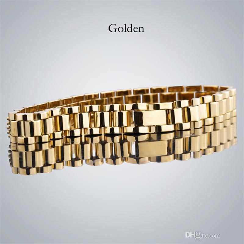 men's designer bracelets With high quality Stainless Steel Iced out bracelet Luxury designer bracciali for women Drop Shipping