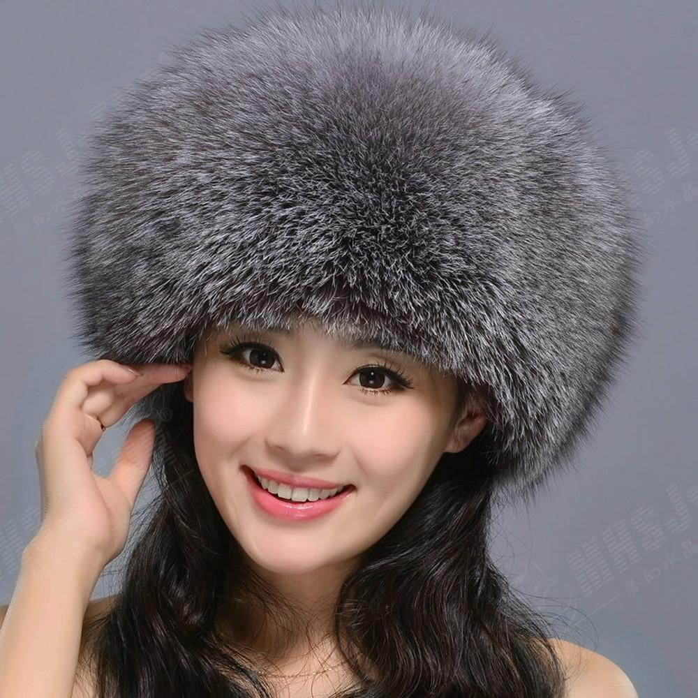 e3e9cf86eb7 2019 2018 Hot Natural Real Fox Fur Hat Winter Women 100% Fur Cap Quality  Russia Bomber Cap From Mary20181109