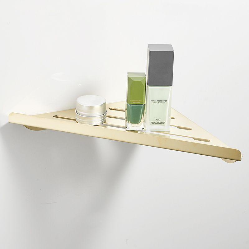 Shelf Shower Caddy Rack Brushed Nickel Wall Hanging Bath Shelves 304  Stainless Steel Bathroom Accessories Set
