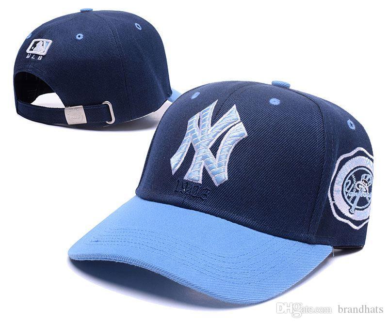Luxury Brand Caps Designer Hats Caps Men And Women Baseball Cap 2019 Summer  Sunhat Hip Hop Hat Golf Hat High Quality Light Blue 4d5bda56f