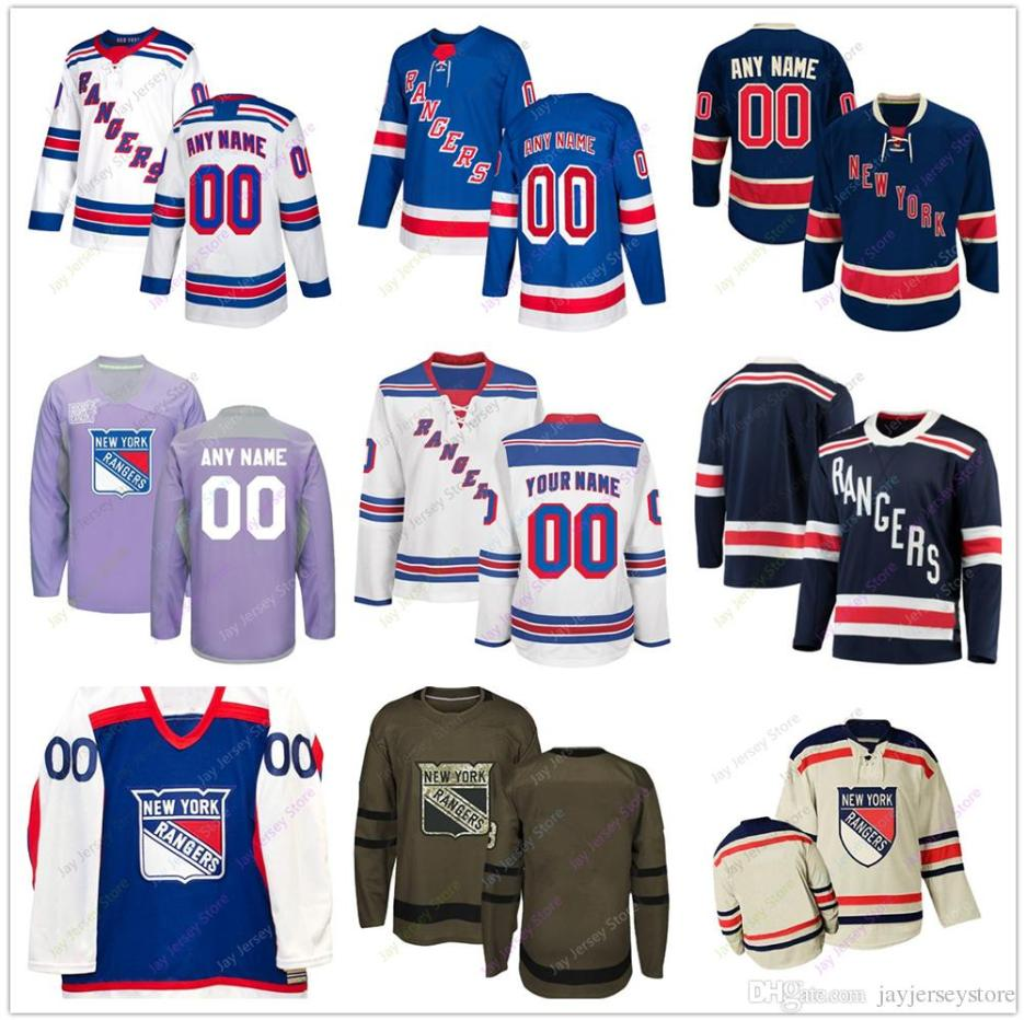 896384d9676 2019 Custom Jersey 2019 Men Women Youth Kid New York Rangers Winter Classic  C A Patch Salute To Service Cheap From Davidjersey, $25.39 | DHgate.Com