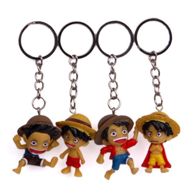 ... De Dibujos Animados Rey Sombrero De Paja Luffy Doll Llavero Colgante  PVC Muñeca Bolsa De Juguete Colgante De Regalo A  12.8 Del Guichengame  41d45b8d7fb