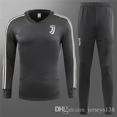 a8a8378e566 2019 2018 2019 Top Quality Jacket Football Jerseys Tracksuit Man Utd Psg  Juventus Soccer Training Jacket Adult Men From Jerseys138
