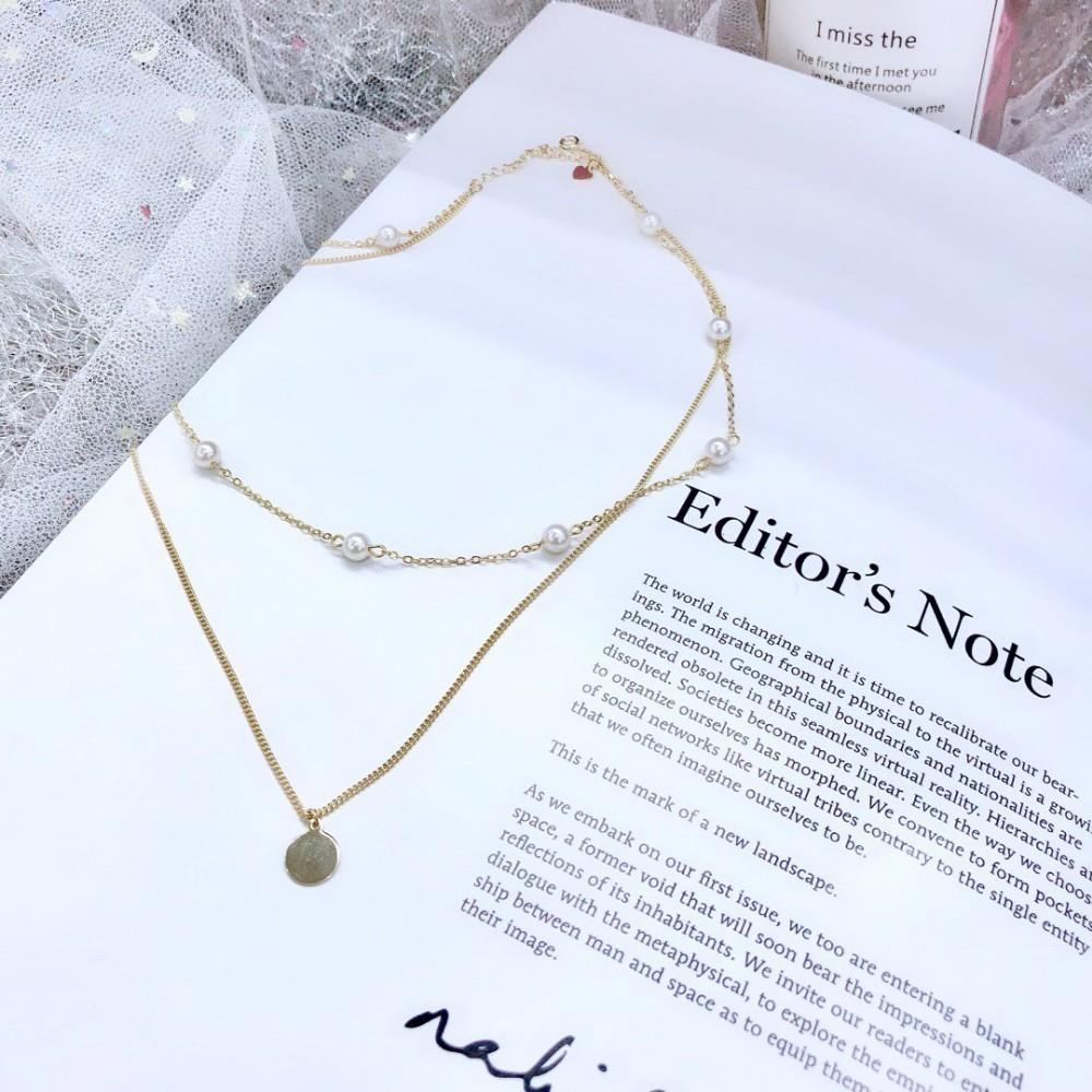 Luxuries designers Women s jewelry 2019 early summer new fashion silver  plating European and American style necklace