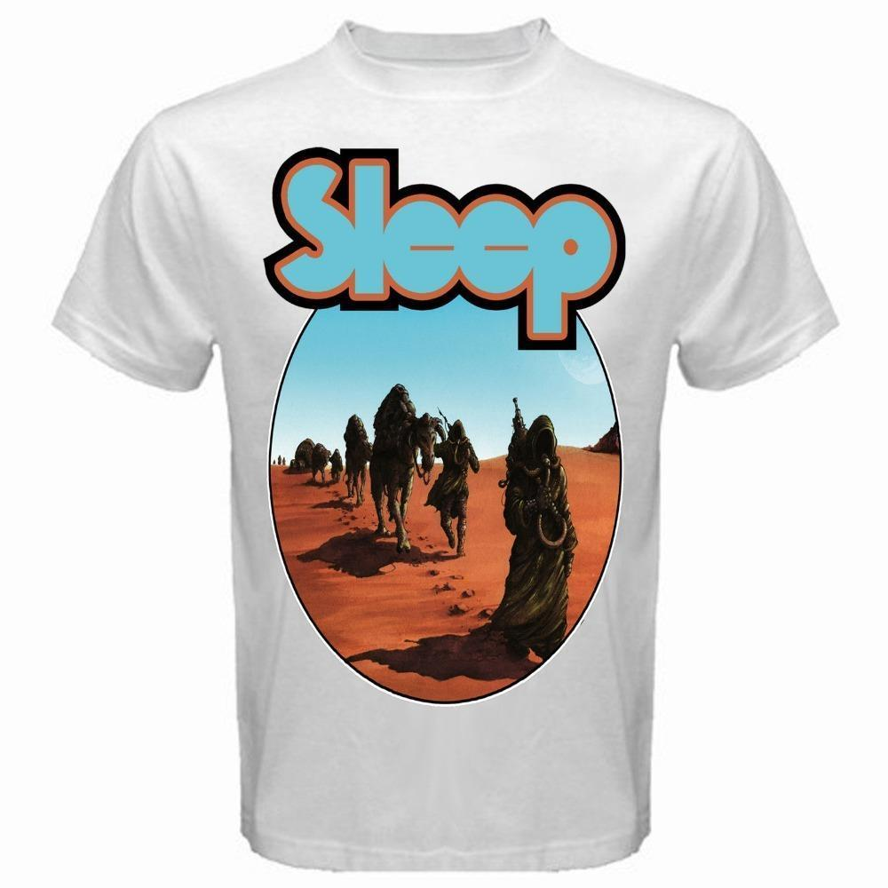 Clever ShirtsCrew Neck Design Sleep Dopesmoker T-Shirt Doom Metal Ava Size  S To 3XL New Shirt Short Sleeve T Shirts For Men