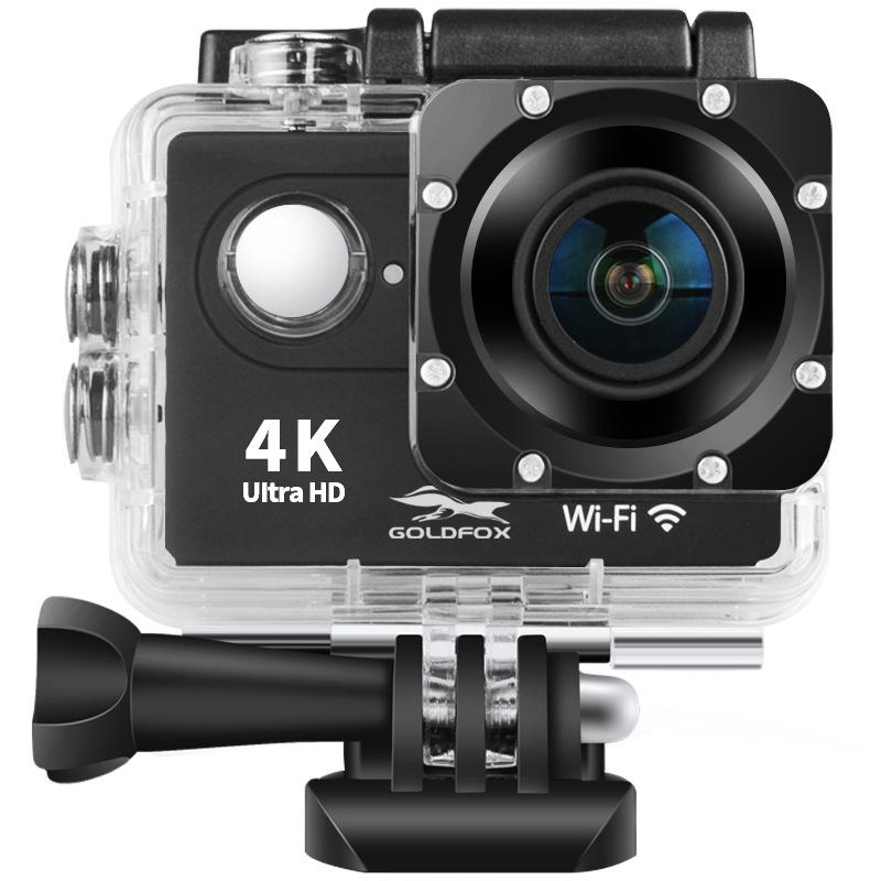 H9 4K Ultra HD Sports Action Camera 2.0 LCD Screen 12MP WiFi 30m Waterproof Sport Camera 170D Wide Angle For Outdoor Sports