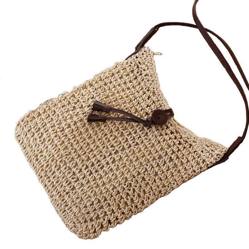 094ddd00be Good Quality Boho Style Small Straw Bag Summer Handmade 2019 New Fashion  Braid Shoulder Cross Body Bag Elegant Ladies Women Beach Branded Handbags  Ivanka ...