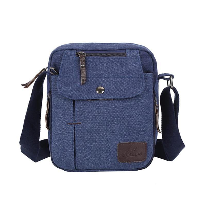 ce860abe90 2019 New Man S Sport Bags Canvas Satchel Casual Travel Pack Men Crossbody Bag  Shoulder Messenger Bags Fashion Outdoor Phone Leather Handbags Handbags On  ...