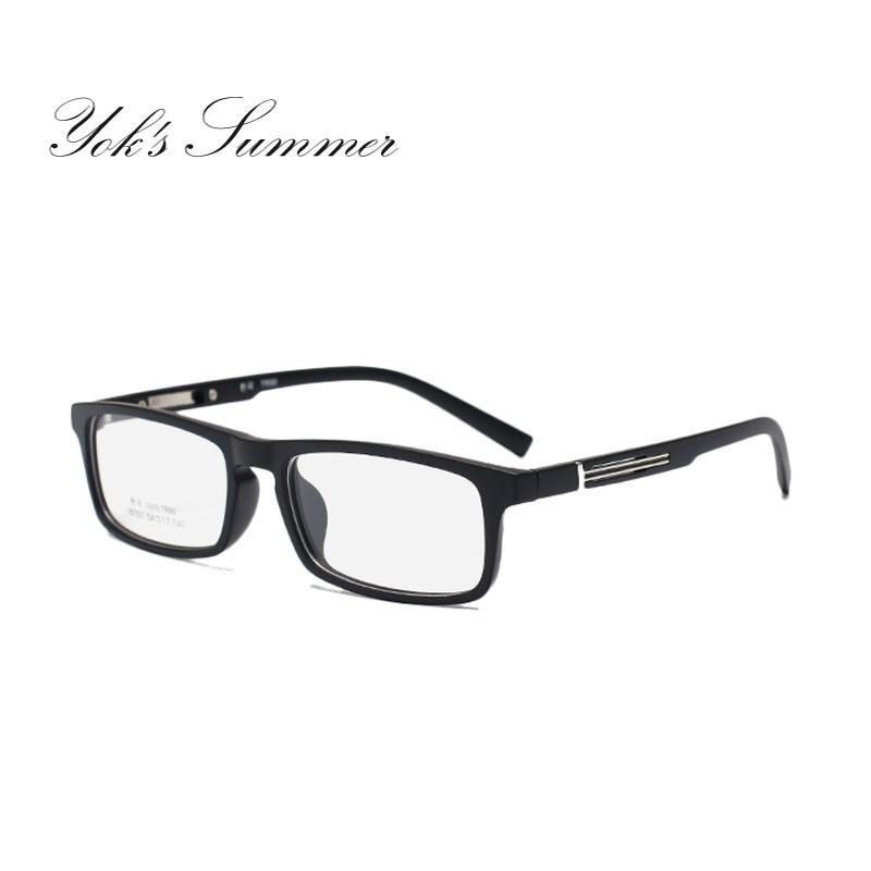 25c6938f25f 2019 Yok S TR90 Eyewear Frame Men Women Brand Designer Myopia Glasses Frame  Ultra Light Resin Material Rectangle Optical Glasses Gafas HN1189 From  Yoks