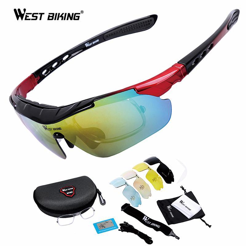 233e99e40db 2019 WEST BIKING Polarized Cycling Glasses Bicycle Outdoor Eyewear ...