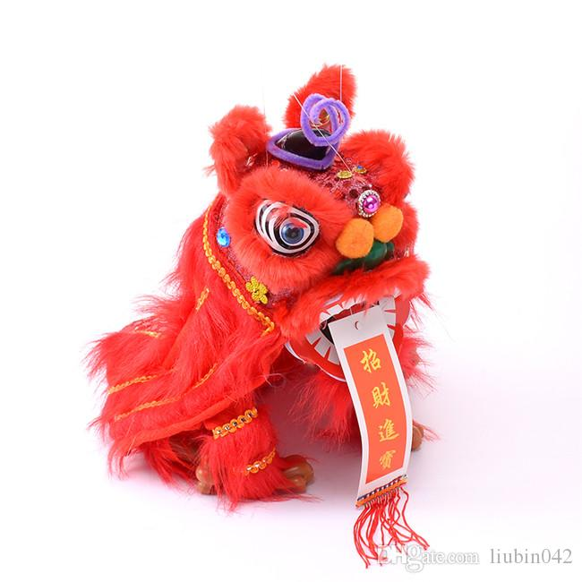 e4d2a7fcd 20170601 Model Plush Toys Marionette Lion Dance Chinese Traditional Custom  Performance Projects Creative Novelty For Parents And Children