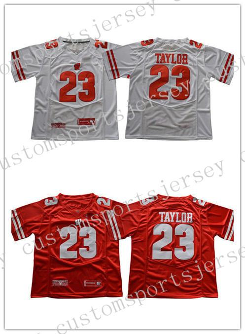Cheap Wholesale NEW Jonathan Taylor Jersey  23 Wisconsin Badgers ... c31c8f50e