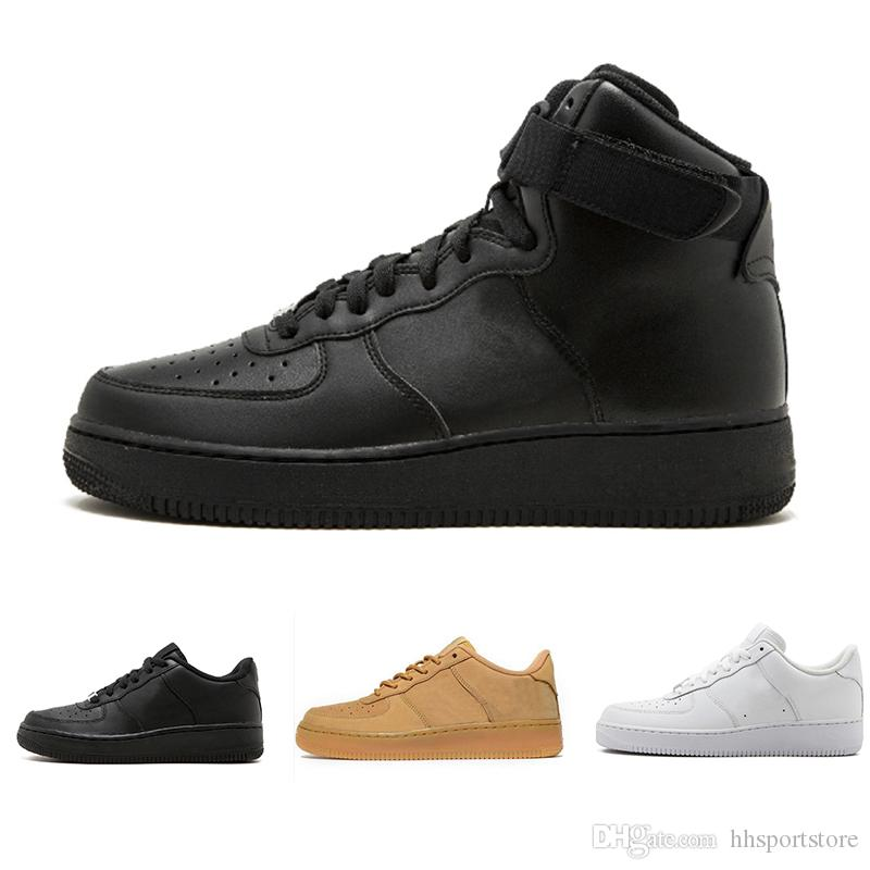 Respirant Hommes Basses Femmes Haute Designer De Mesh Un Qualité Date Forcé Euro Force 1 Tricot One Nike Air Chaussures Unisexe dWCxeQrBo