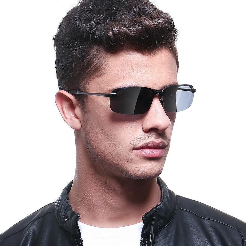 Men's sunglasses, classic sunglasses, outdoor driving mirror, men's color film, light and light