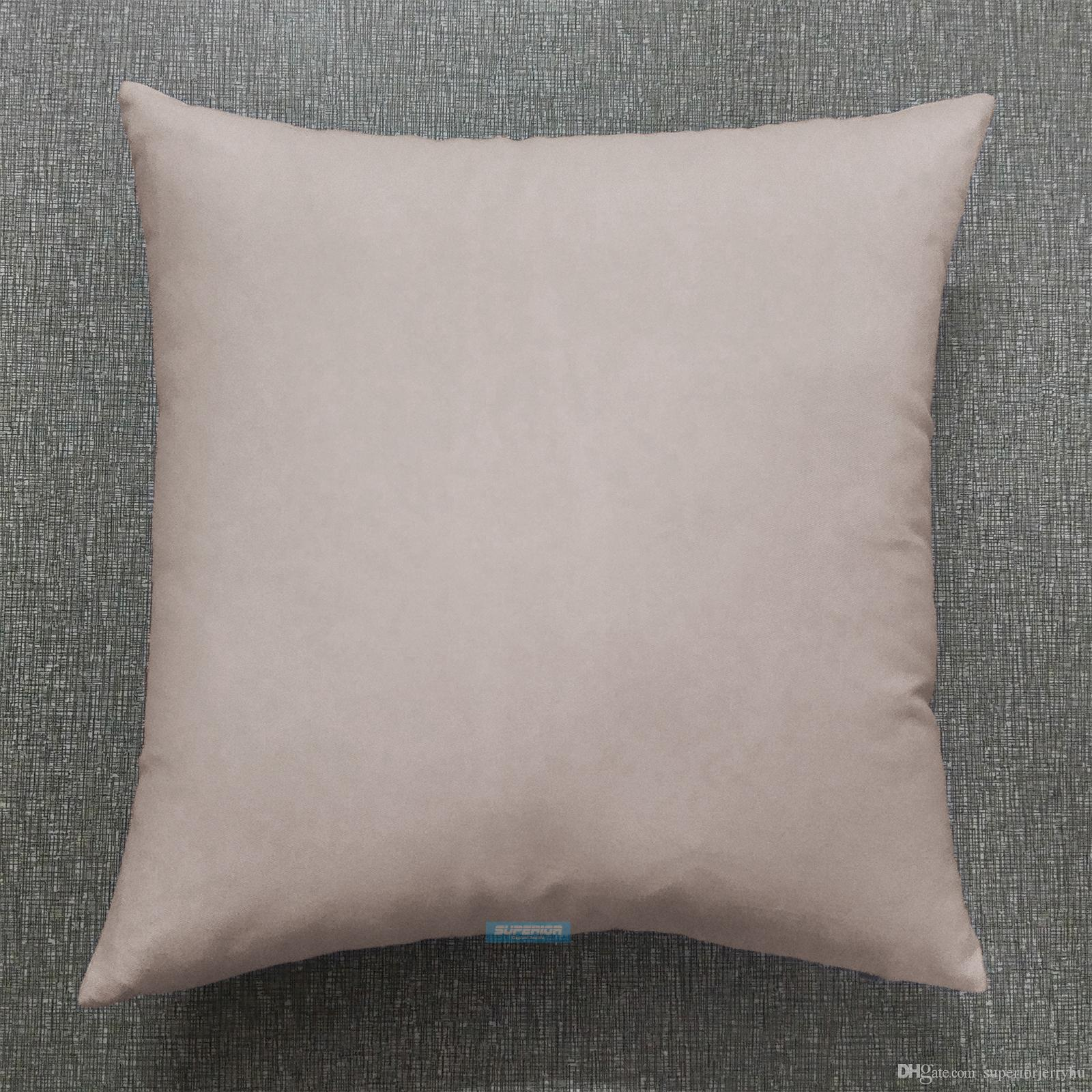 16x16 Inches Cotton Twill Pillow Cover Solid Natural White