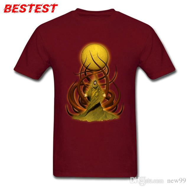 a47f22ee01b0 2019 Womens Luxury Designer T Shirts Lovecraft T Shirt Thulhu Tshirt Cotton  Fabric Tops Tees For Men Summer T Shirts Group Prevalent Hoodie Online T  Shirt ...