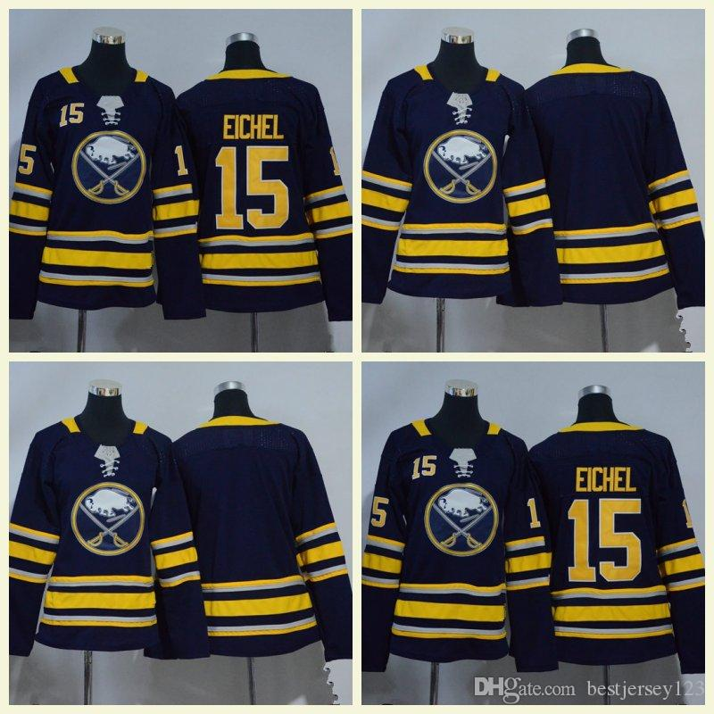 Women Buffalo Sabres 9 15 Jack Eichel 26 Rasmus Dahlin 90 Ryan O Reilly  Fanatics Branded Navy White Breakaway Hockey Jerseys Hockey Jerseys Eichel  Women ... edbef0240