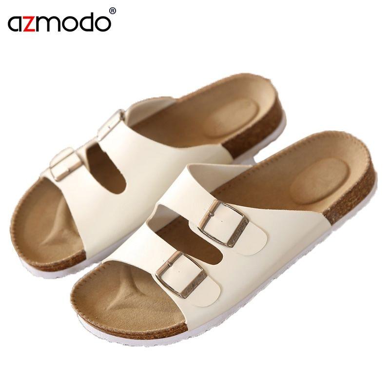 a8a38d6e458b Men Shoe Slippers Sandals Zapatos Hombre Flip Flops Men Sandals Unisex  Lovers Cork Male Summer Beach Flip Casual Sandalias Chine  8056 Gold Sandals  Sandals ...