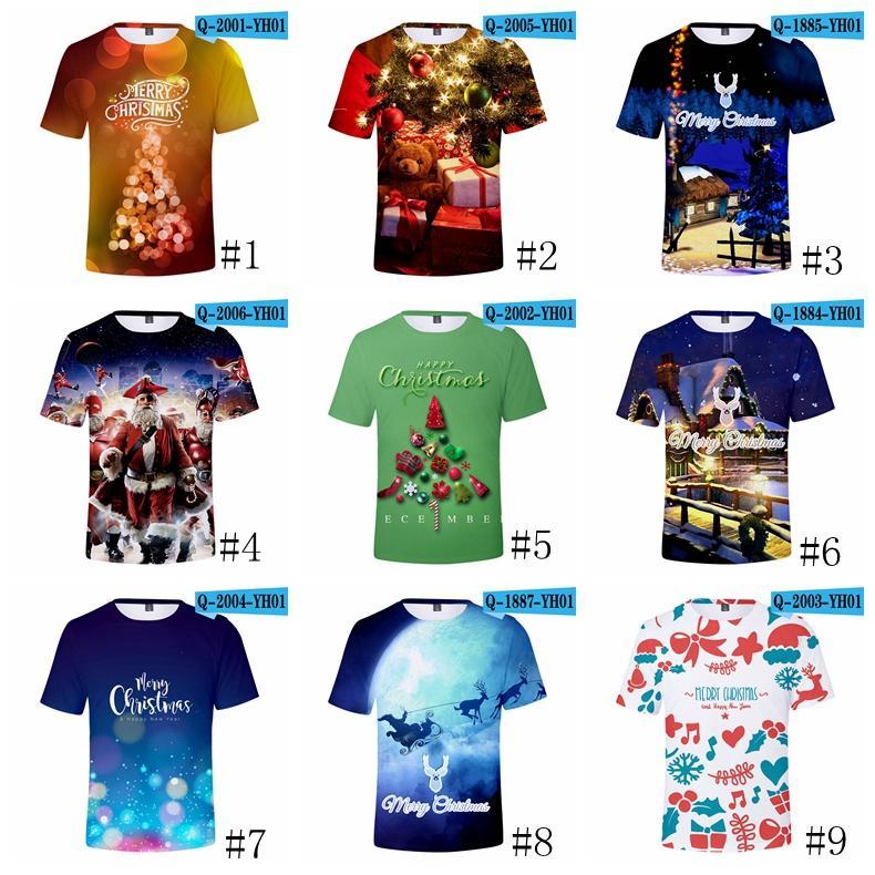 3d4f48ac46 Compre Camisa De Natal T Fortnite Camisas Xmas Moda Tops Casual Blusa De  Manga Curta Tees Imprimir Blusas Unissex Roupas GGA1387 De Good clothes