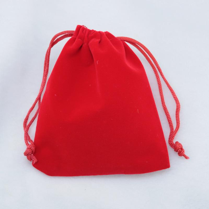 Velvet Pouches Gift Bags 7*9 cm Jewelry Packaging Bag Drawstring Pouch Wedding Christmas Fine Gifts Bags