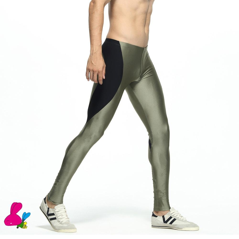 7ed0a1ff55e02 2019 Running Tights Legging Men Compression Pants Basketball Yoga Sport  Leggings Fitness Gym Athletic Long Quick Dry Jogging Training From  Curtainy, ...