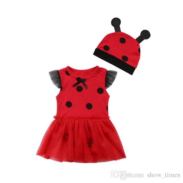 3d39726f 2019 New Style Fancy Cute Newborn Toddler Baby Girls Princess Romper Dress+Hat  Ladybug Set Party Costumes 0 18M From Show_times, $10.35 | DHgate.Com