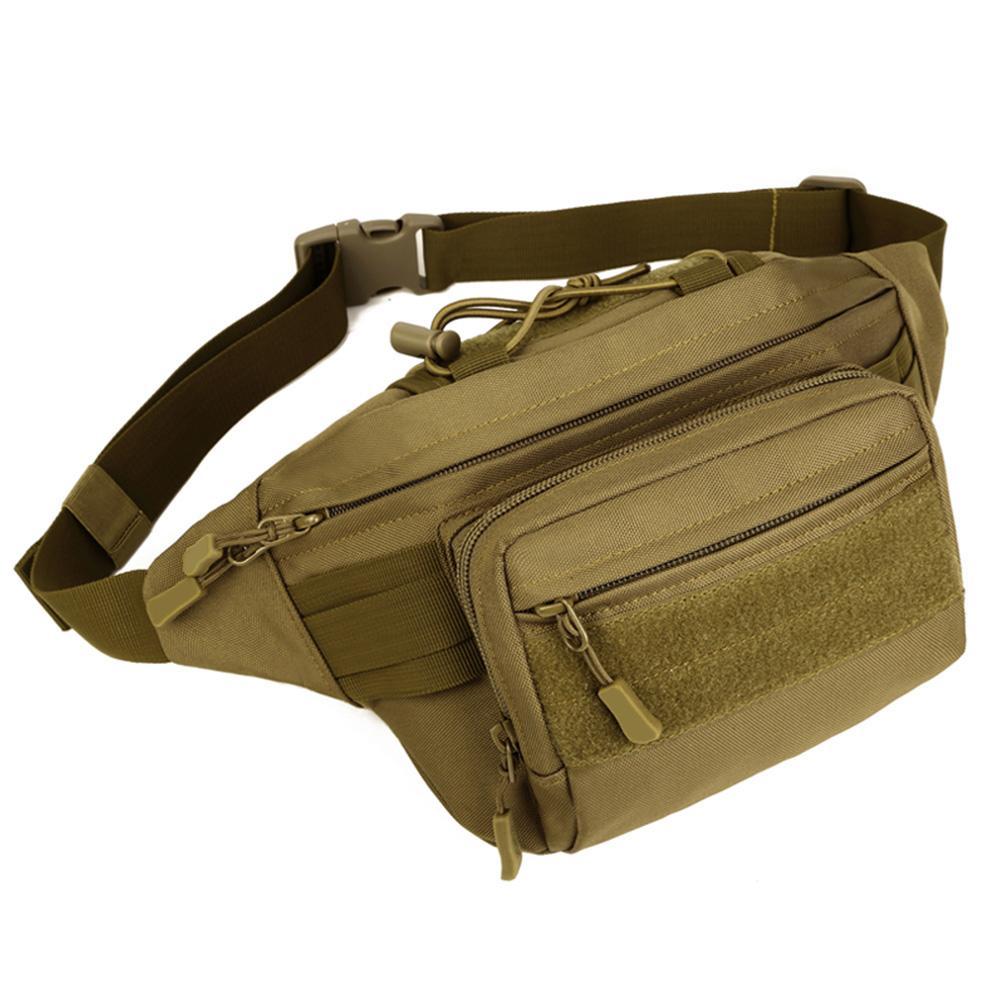 1338092b46 Sport Tactical Bag Hiking Waterproof Nylon Camping Adjustable Strap Trekking  Walking Hip Wasit Pack Travel Running Waterproof Backpack Kids Backpacks  From ...