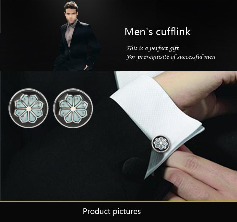 La boîte noire classique Boutons de manchette nouveau style de conception française boutons de manchette chemise robe de mariée française, es de livraison gratuite